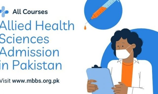 Allied Health Sciences Admission 2021 (All Courses)