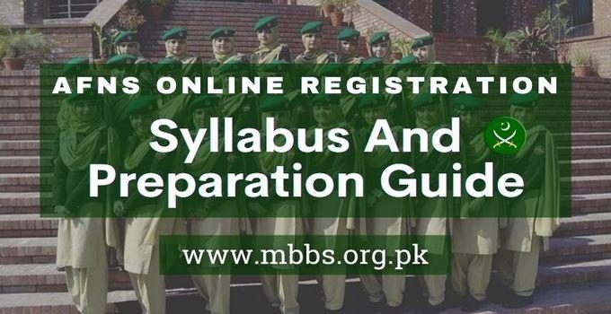 AFNS Online Registration