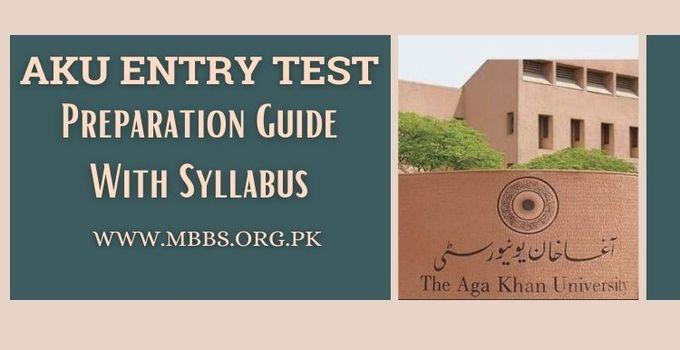 AKU Entry Test