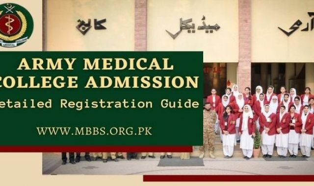 Army Medical College Rawalpindi Admission 2021 [Detailed Registration Guide]