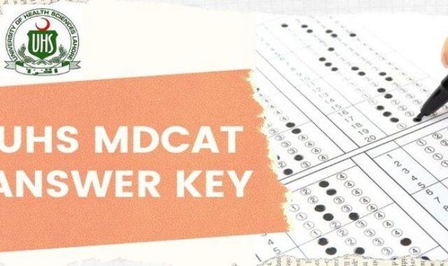 PMC MDCAT Answer Key 2021