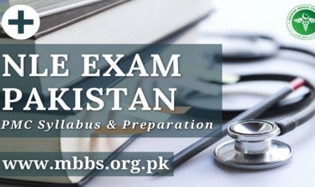 NLE Exam Pakistan 2021 (Preparation Guide With PMC Syllabus)