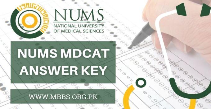 NUMS Answer Key