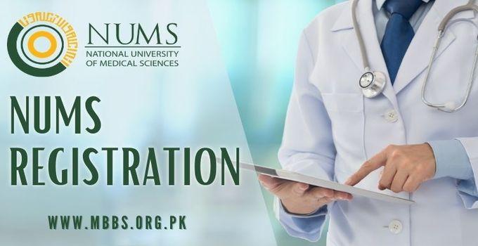 NUMS Online Registration