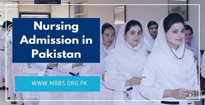 Nursing Admission In Pakistan