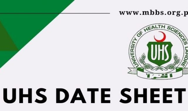UHS MBBS Official Date Sheet 2021